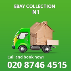Islington eBay courier