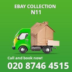 Friern Barnet eBay courier