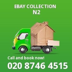 Hampstead Gdn Suburb eBay courier