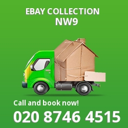 Kingsbury eBay courier