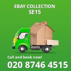 Peckham Rye eBay courier