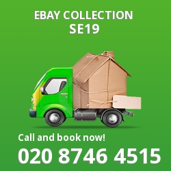 Crystal Palace eBay courier