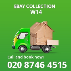 West Kensington eBay courier