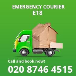 E18 cheap delivery service