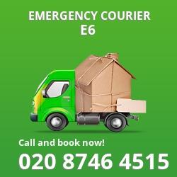 E6 cheap delivery service