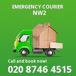 NW2 cheap delivery service