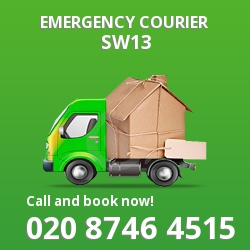 SW13 cheap delivery service