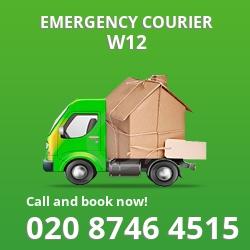 W12 cheap delivery service