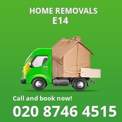 Poplar moving houses E14