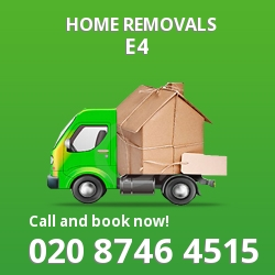 South Chingford moving houses E4