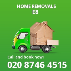 Hackney moving houses E8