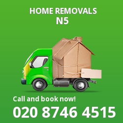 Highbury moving houses N5