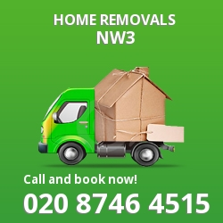 Belsize Park moving houses NW3