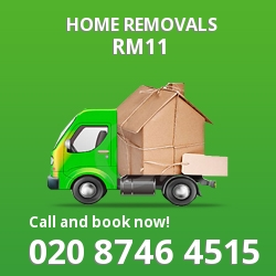 Emerson Park moving houses RM11