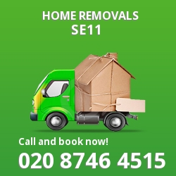 Kennington moving houses SE11