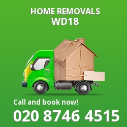 Watford moving houses WD18