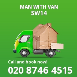 SW14 man with van