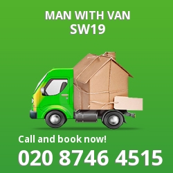 SW19 man with van