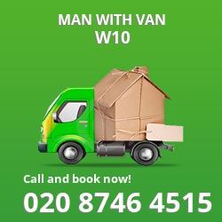 W10 man with van