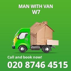 W7 man with van