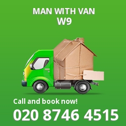 W9 man with van