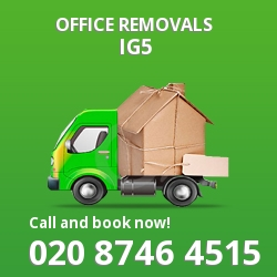 Clayhall office removal