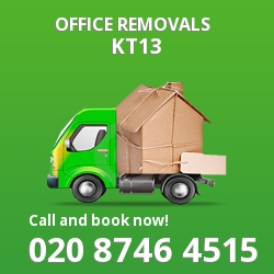 Weybridge office removal