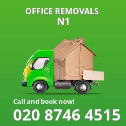 Barnsbury office removal