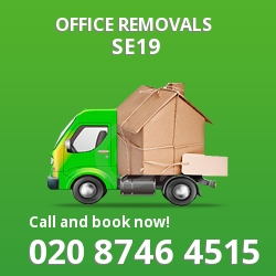 Gipsy Hill office removal
