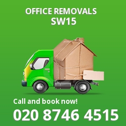 Kingston Vale office removal