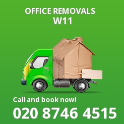 Notting Hill office removal