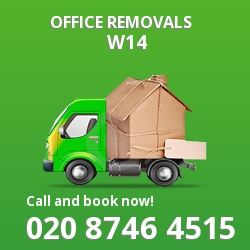 Barons Court office removal