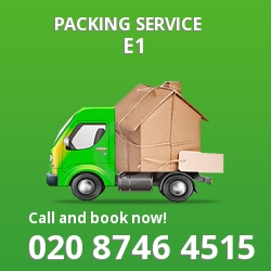 full packing service Stepney