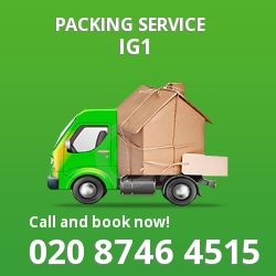 full packing service Ilford
