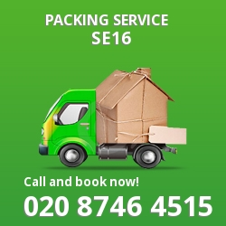 full packing service Surrey Quays