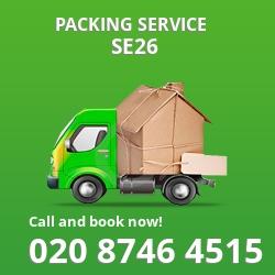 full packing service Sydenham Hill