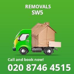 South Kensington removal