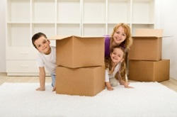 Ealing removal packing boxes